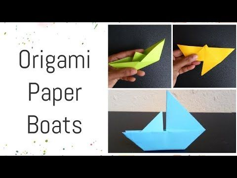 Photo of 3Types of Paper Boat Making Tutorial That Floats | Origami Boat Easy Instruction For Kids