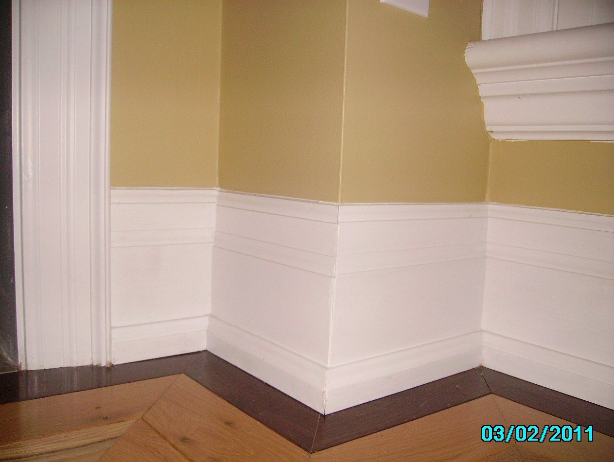 How to cut base molding around wall vent - Baseboards Styles Selecting The Perfect Trim For Your Home