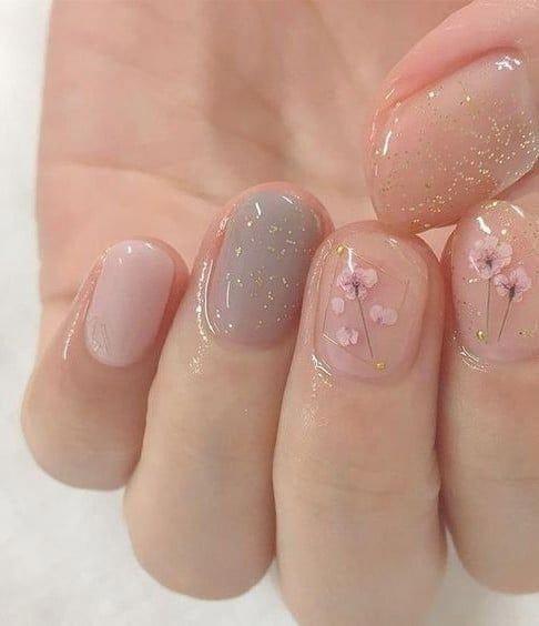 Photo of Soft cute nails Nails   art   girl   polish   cute   makeUp #FrenchManicureNails