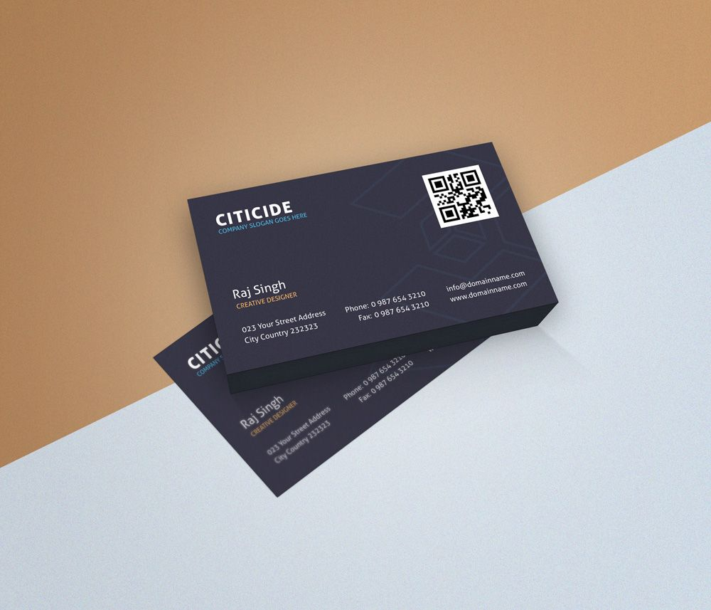 Elegant business card design template and mockup psd design elegant business card design template and mockup psd wajeb Images