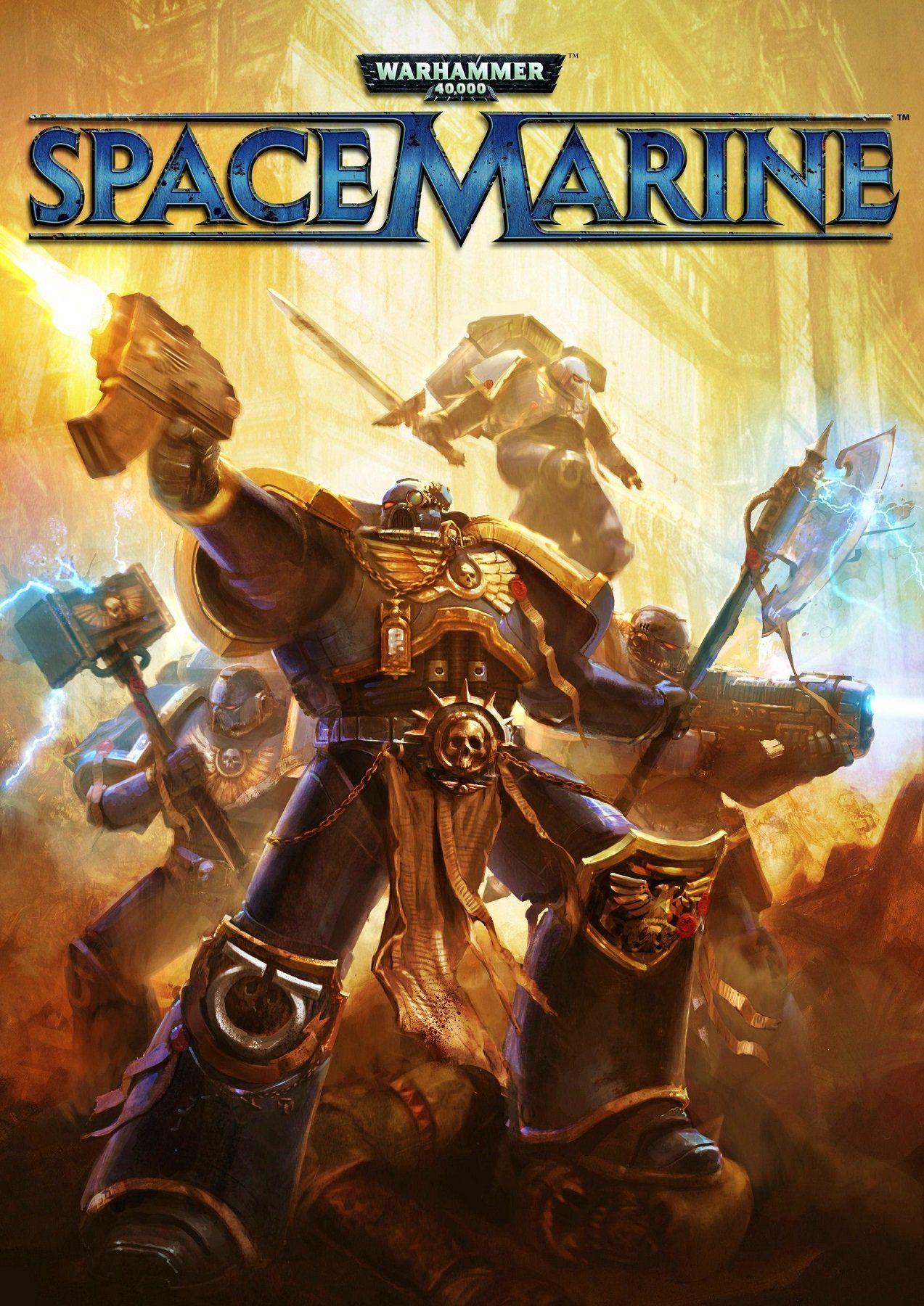 Warhammer 40,000: Space Marine Poster   War   Video game