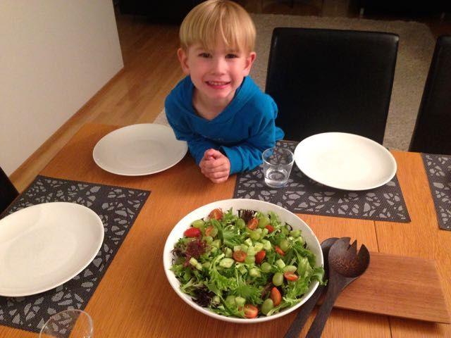 Salaatti nro 85 - Benjaminin salaatti.