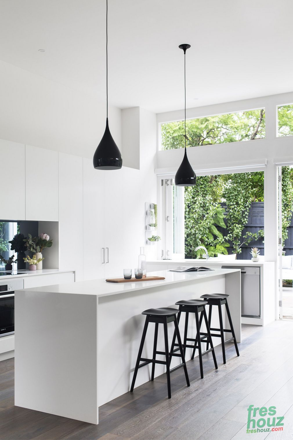 Our 101 Favorite Elegant White Kitchen Designs Inspirations | Diseño ...