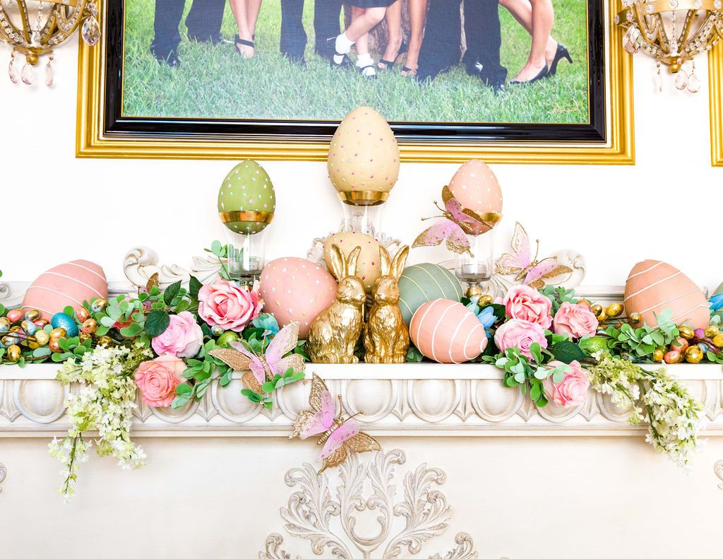 easter family and living rooms  decor easter creative decor