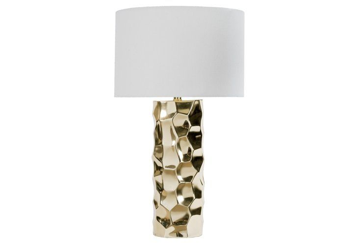 Daphne Table Lamp Brushed Gold Lamp Table Lamp Gold Table Lamp