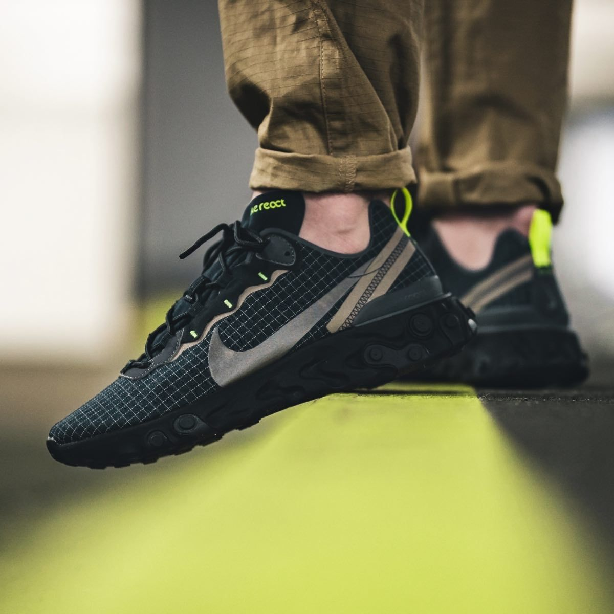 Nike React Element 55 Navy Anthracite | Sneakers, Nike
