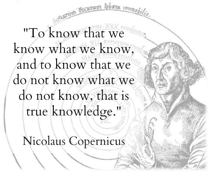 Nicolaus Copernicus Famous Quotes: Lovely. Inspiring. Thought