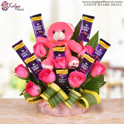 Teddy In A Style Order Gifts Online Mumbai Online