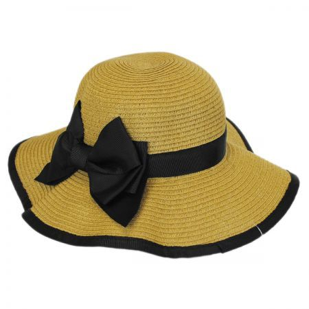 Kids classic beauty with the Jeanne Simmons Child s Sunhat with Bow  available at  VillageHatShop a68a65f1b52