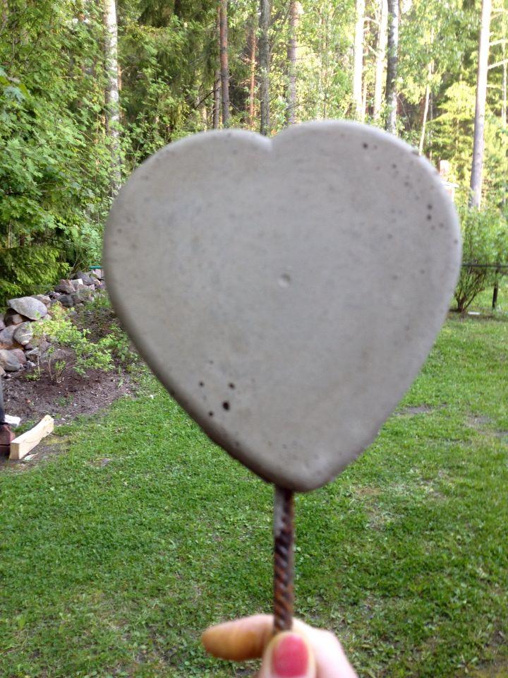 сердце бетон