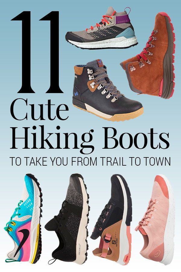 11 Cute Hiking Boots to Take You From Trail to Town