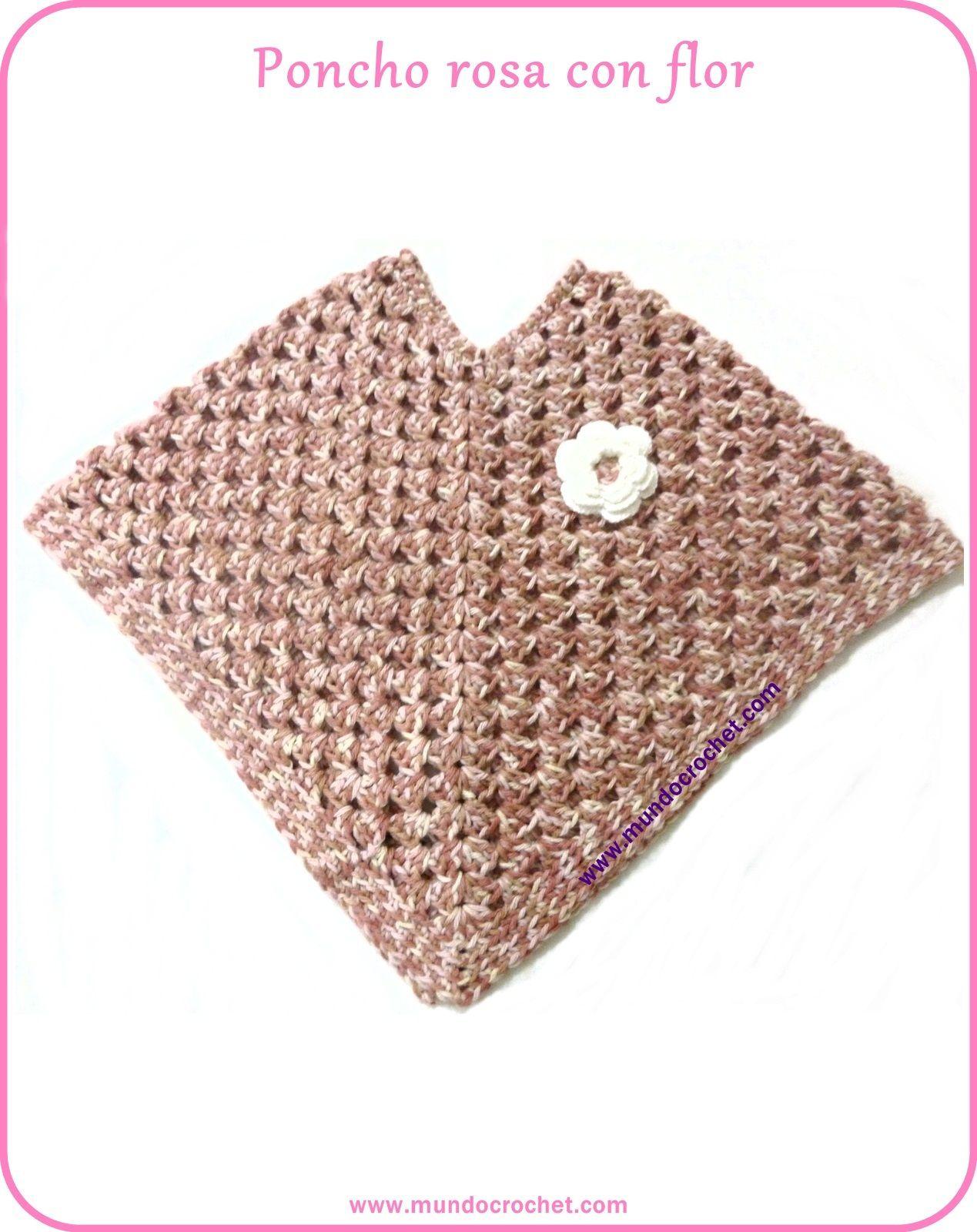 Crochet poncho girl-free pattern | baby | Pinterest | Ponchos ...