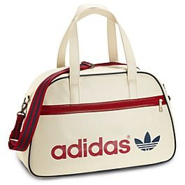 75d6700cc2 Adidas Holdall Medium Duffel Bag Ecru/University Red | Ry Style ...