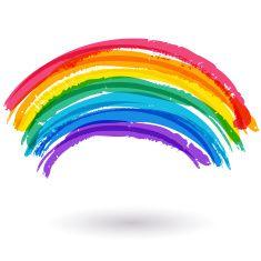 Illustrations Vector Images Rainbow Tattoos Rainbow Background Rainbow Art