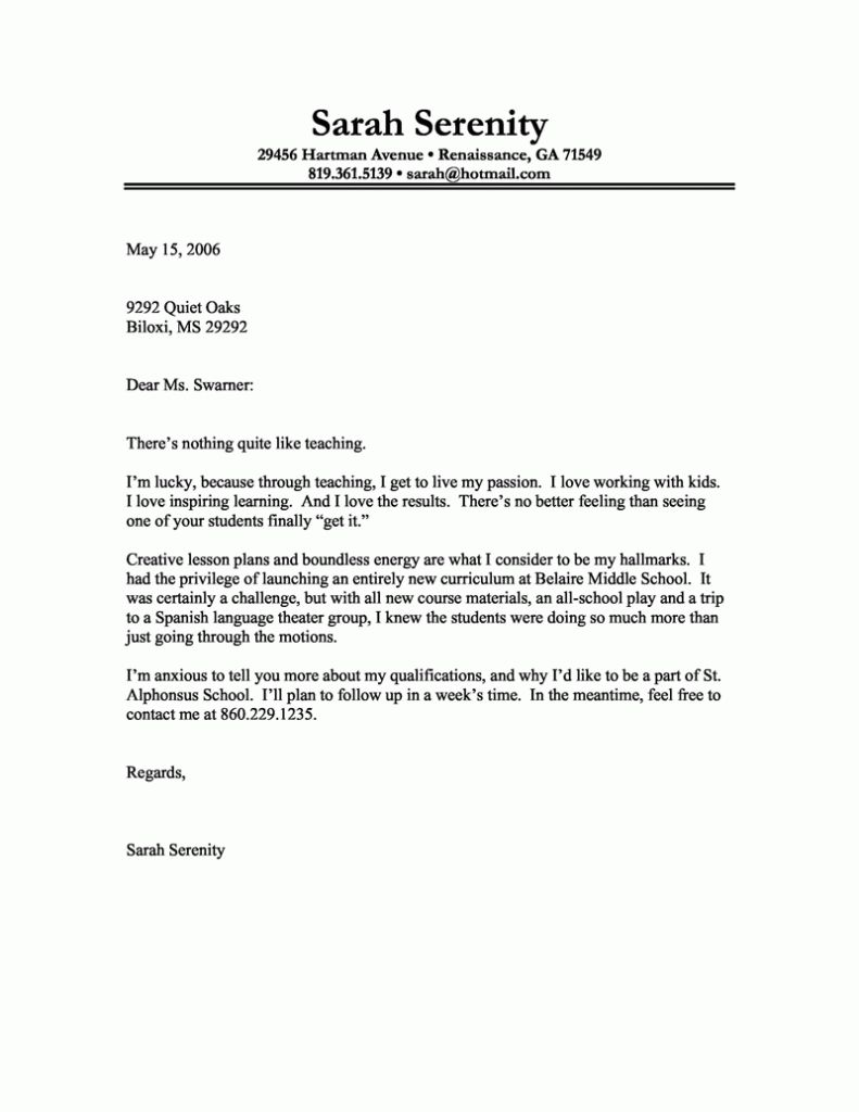 best cover letter 2017 2 - Writing Effective Cover Letters