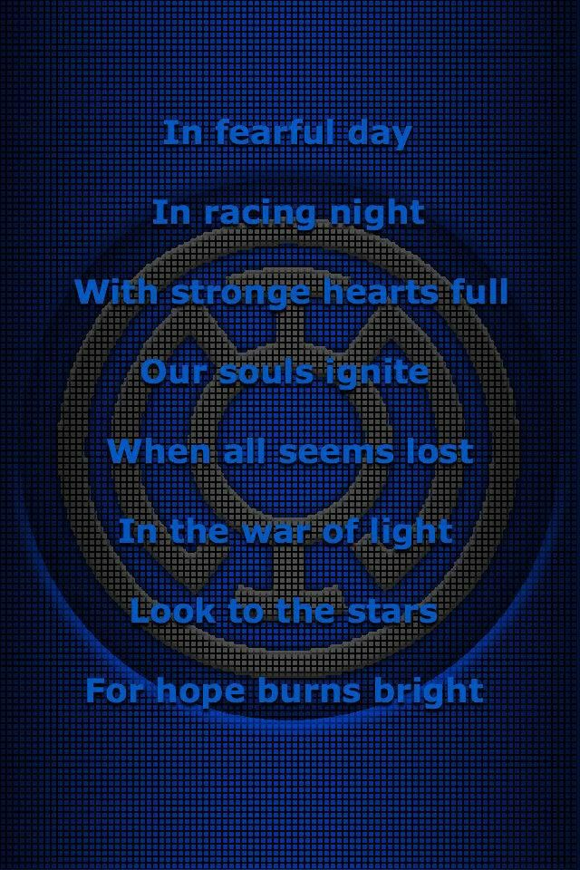 Blue Lantern Core Oath If I Could Be Any Lantern I Would Be A Blue