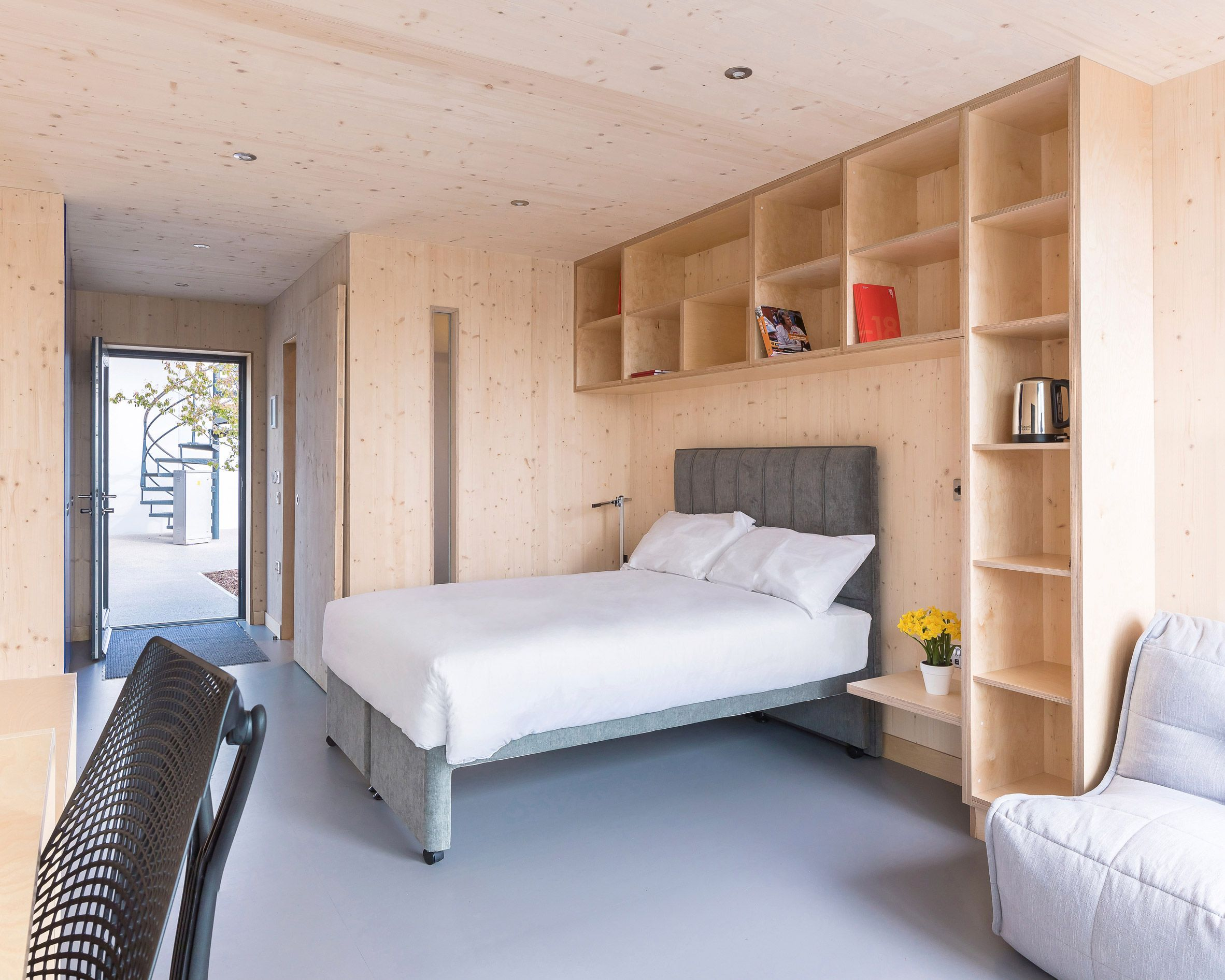 WilkinsonEyre completes modular student housing for Dyson