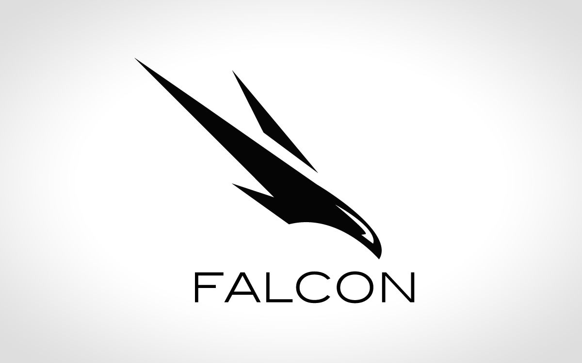 Falcon Logo For Sale Lobotz Falcon Logo Logos Logo Design