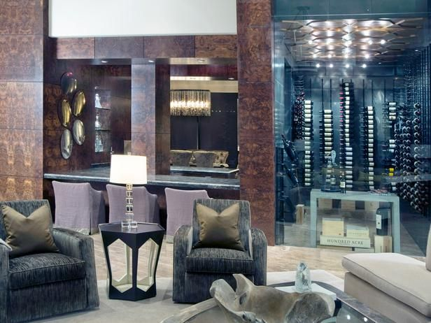 Contemporary Living Rooms From Pineapple House Interior Design On HGTV