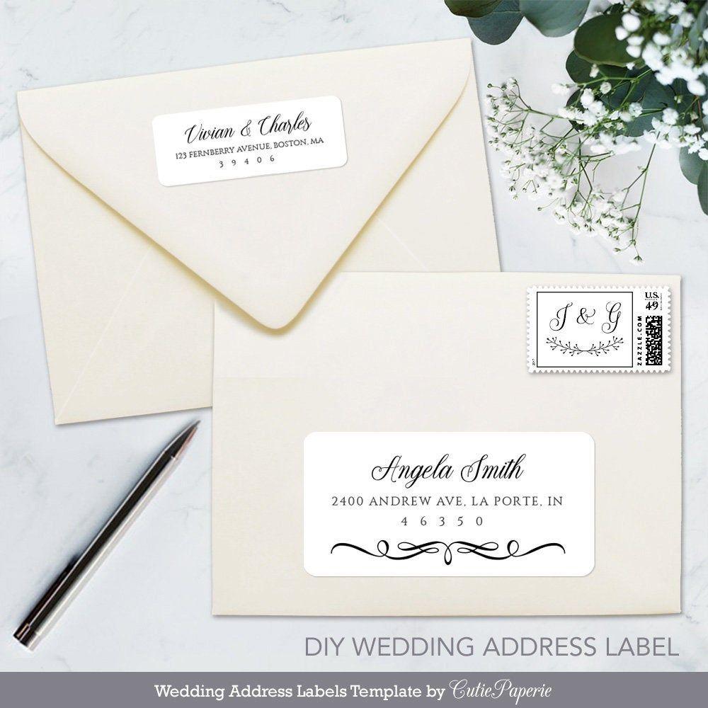Wedding Address Label Printable Wedding Address Labels Address Label Template Wedding Address
