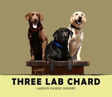 WEDDING? Larson Family Winery 2010 3 Lab Chardonnay