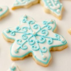 Ice Sugar Cookies ~ that actually taste amazing! Fun to make, fun to gift and fun to eat.