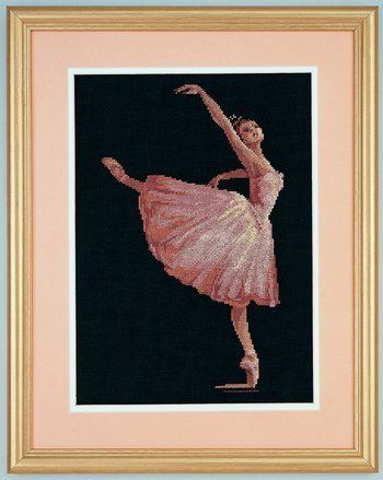 Ballerina Beauty Dimensions Cross Stitch Kit