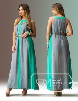 3337bdad3fb362d Шифоновое платье в пол большие размеры 48, 50, 52, 54 | Большой ...