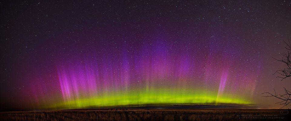 Montana Northern Lights 7/13/15 taken by Gary Luce