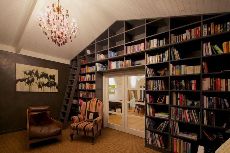 Große Bibliotheken für moderne Wohnzimmer Pinterest Searching - grose wohnzimmer bilder