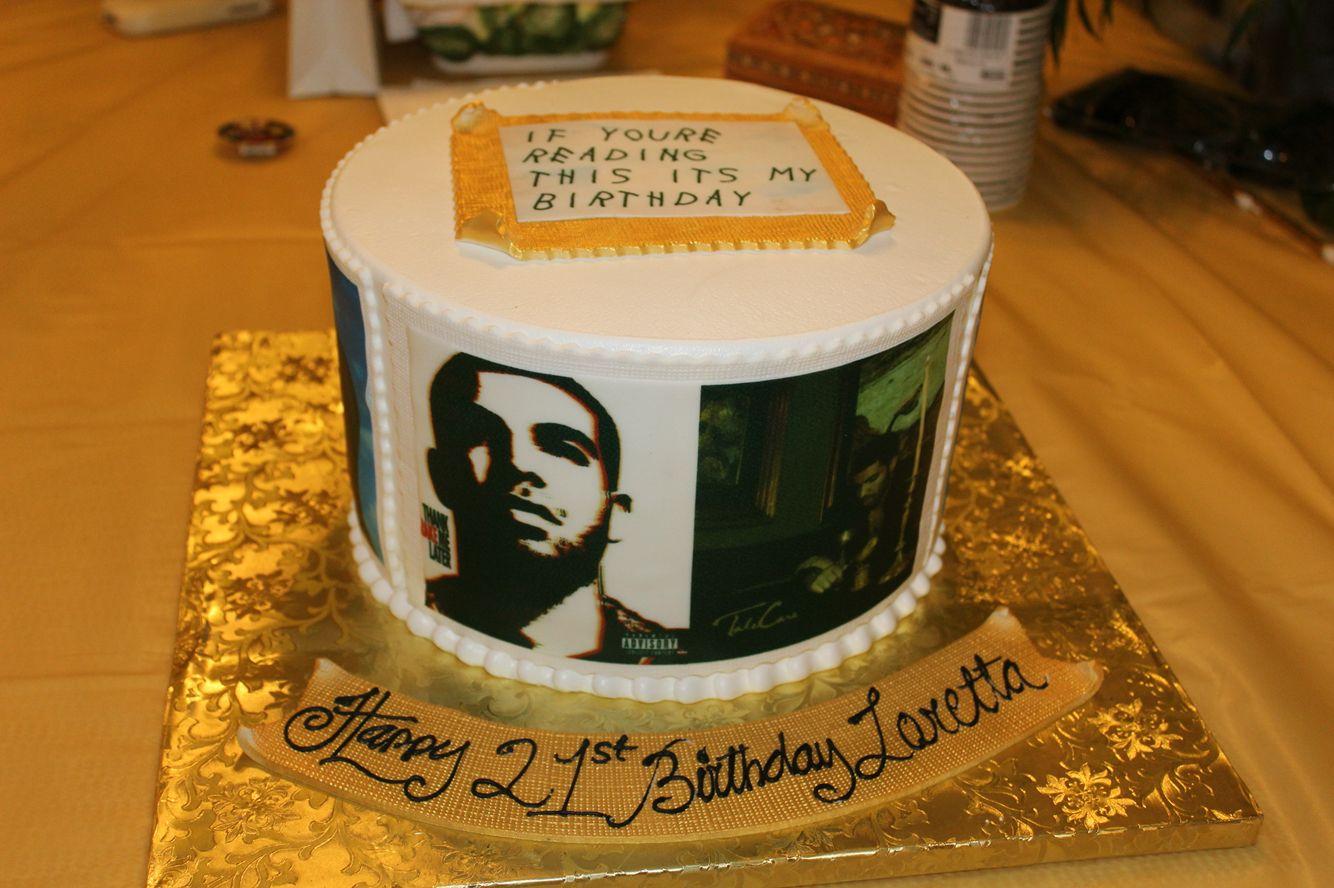 Drake cake drake cake cake 33rd birthday