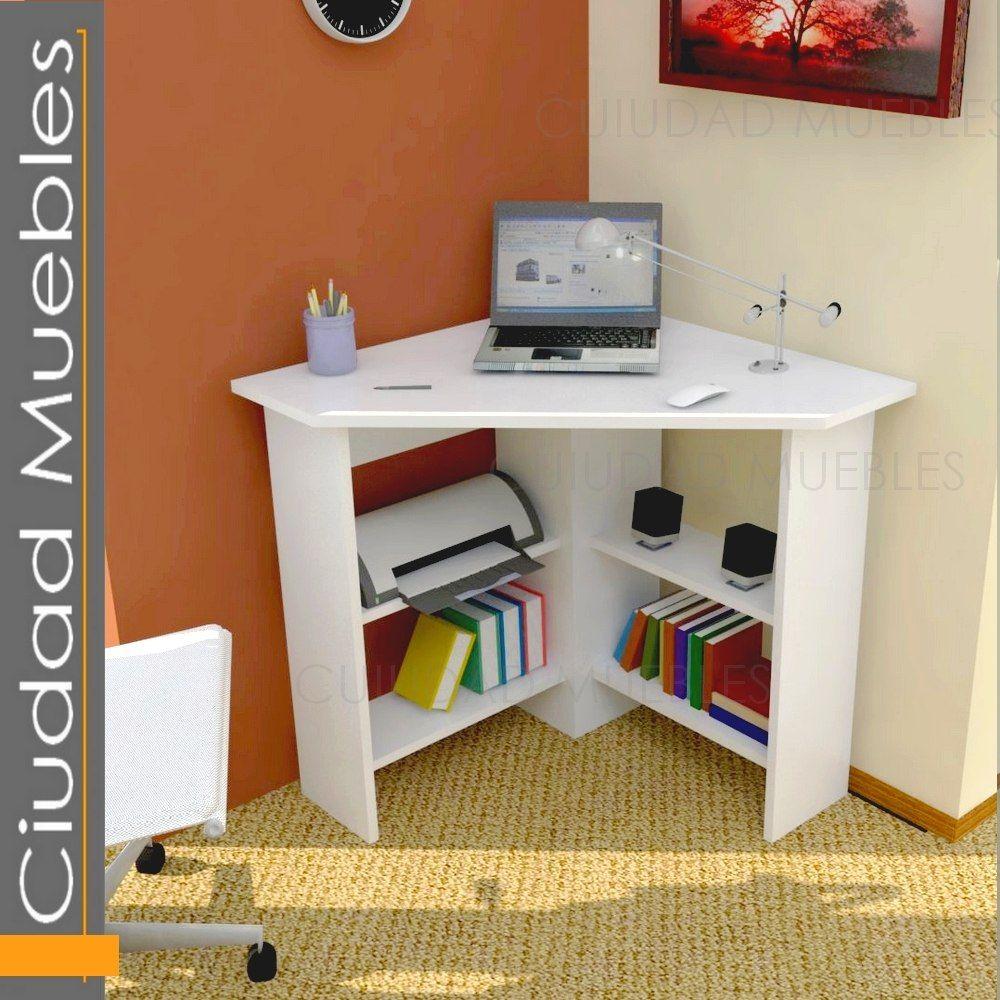 Pin de ivonne blanco en muebles pinterest escritorio for Mesa de esquinero