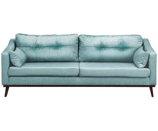 Sofa In Turkis Westwingnow Mit Bildern Samt Sofa Sofa Sofas