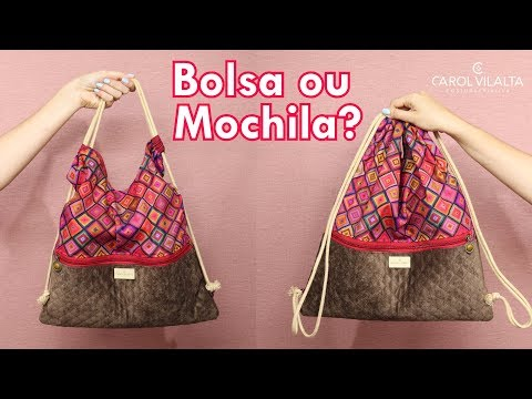 Bolsa ou Mochila? | Carol Vilalta | Mini Série Bolsas Fáceis (Ep. 2)