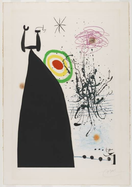 Joan Miró 'The Conductor', 1976 © Succession Miro/ADAGP ...