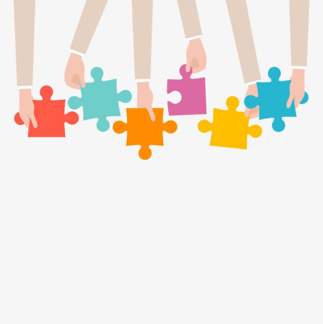 Vector Business Puzzle Module Color Puzzle Pieces Png Transparent Clipart Image And Psd File For Free Download Powerpoint Background Design Education Poster Design Education Poster