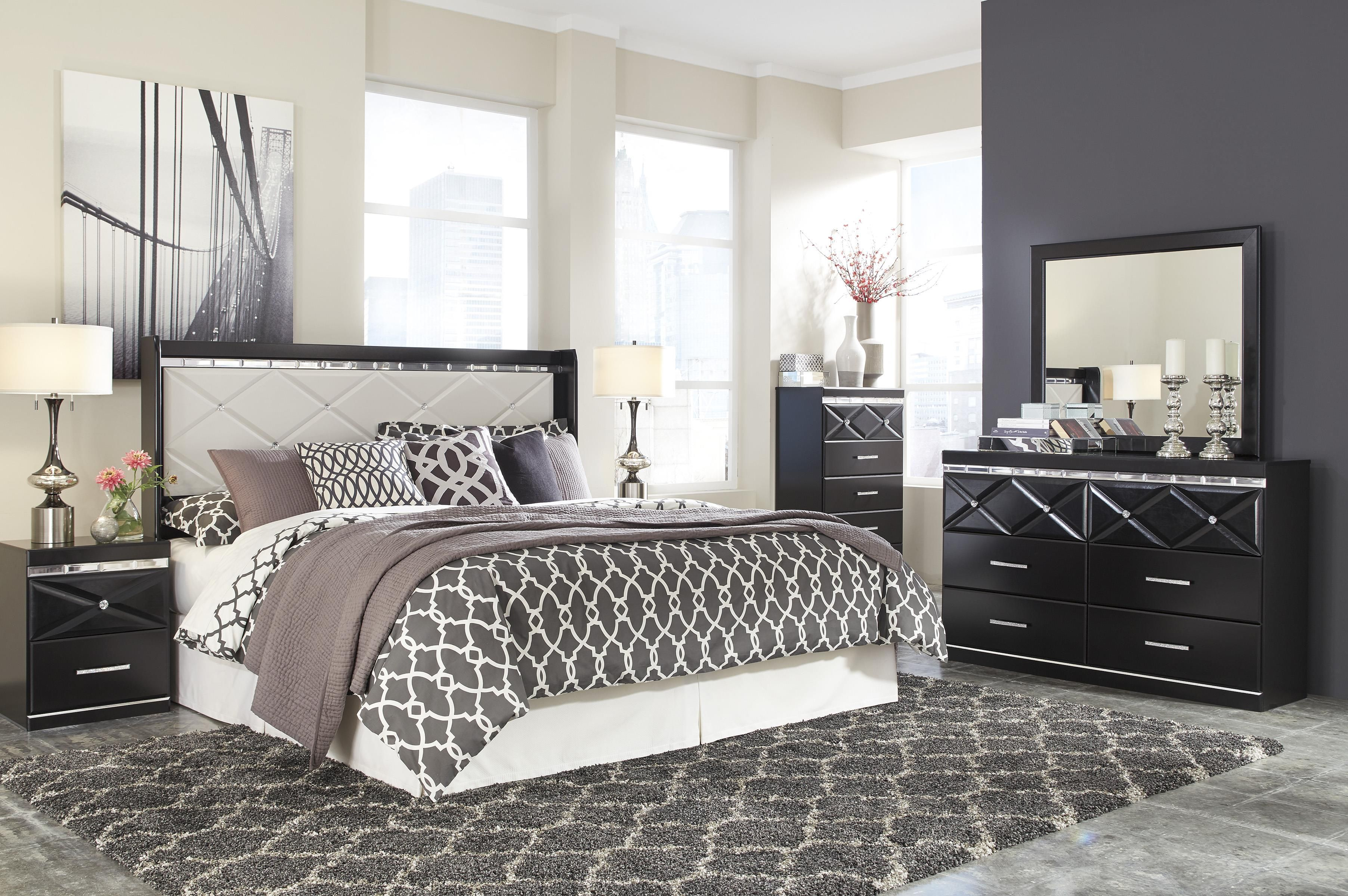 Signature Design by Ashley Fancee King Bedroom Group | Northeast ...