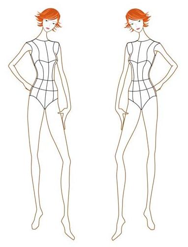 Croquis Fashion Figures Fashion Illustration Template Fashion Figure Templates