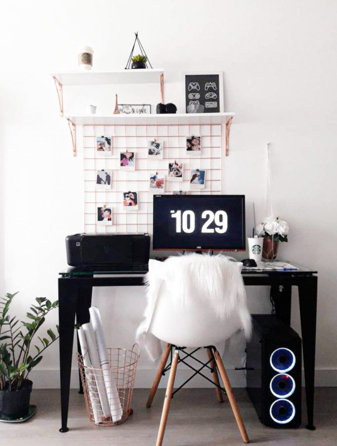 Photo of How To Style A Chic and Modern Home Office – DIY Darlin'