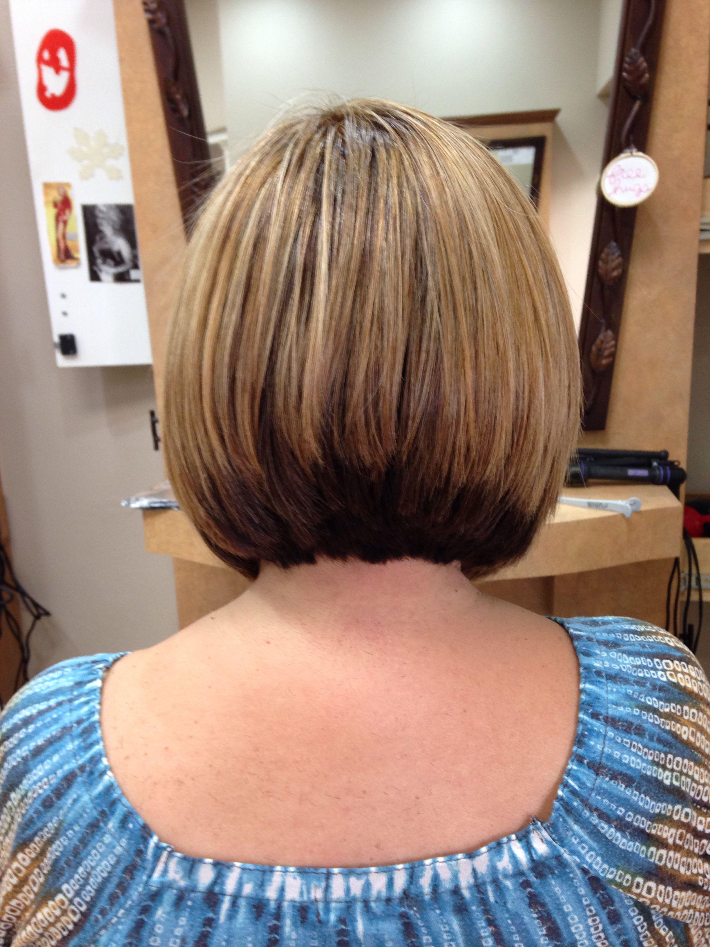 Back Of A Line Bob Haircut By Sarah Romero Sarah Romero