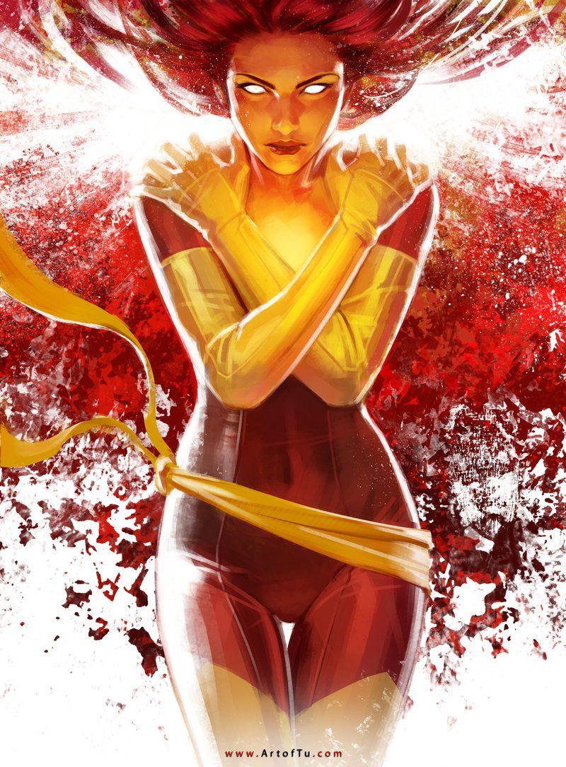 X Men Phoenix By Tu Bui On Deviantart Comic Art Pinterest