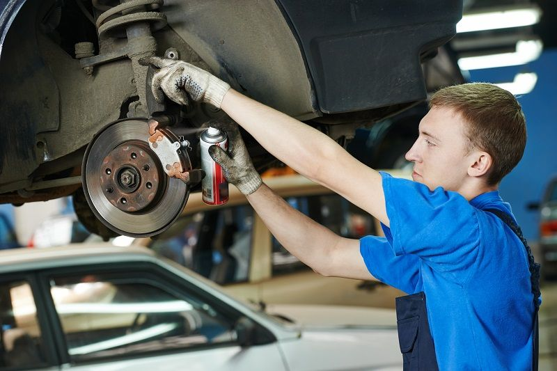 Choose the Brake Repairs on Time Car repair service