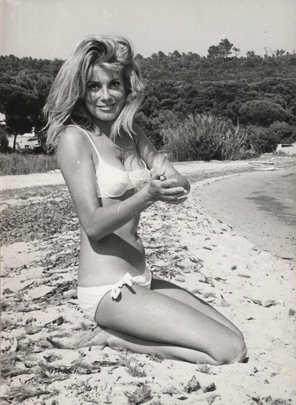 Catherine Deneuve au naturel - Photo Memory