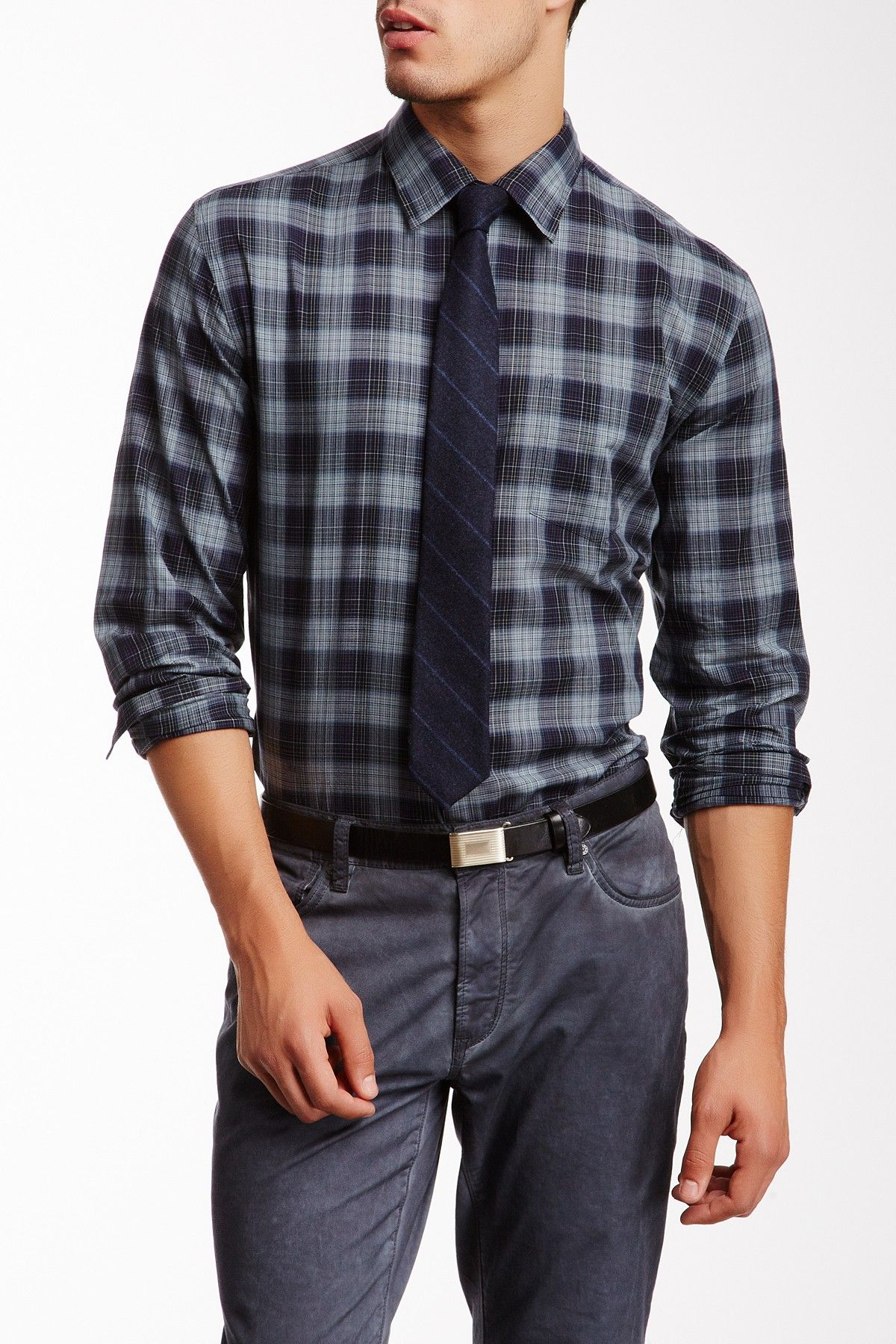 Plaid Long Sleeve Shirt on HauteLook