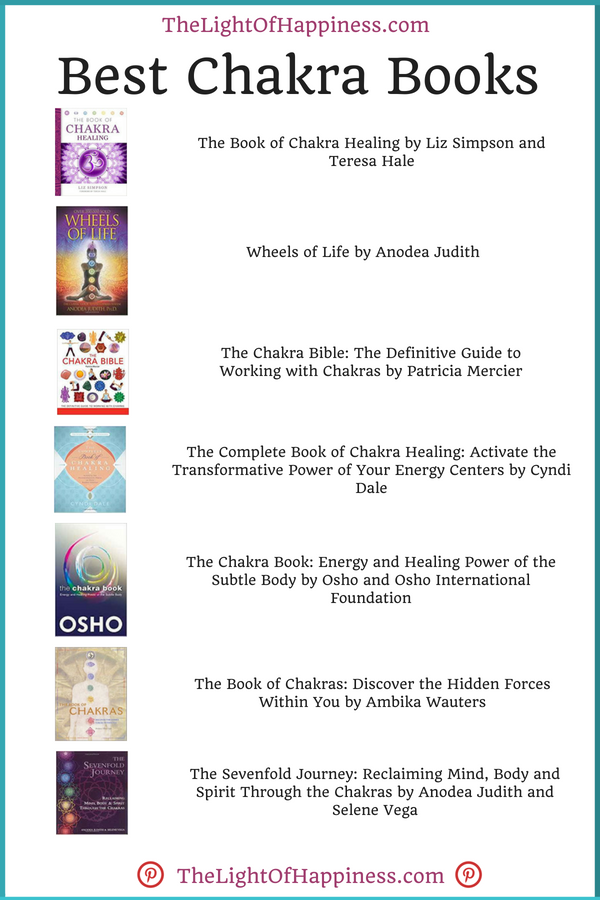 Best Chakra Books | Chakras | Chakra books, Chakra, Chakra mantra