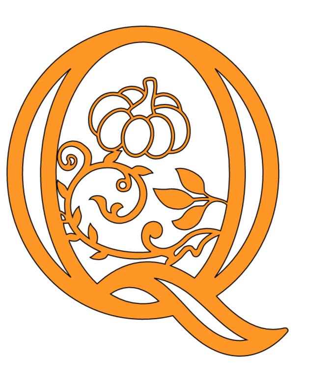 Cricut Autumn/Fall Alphabet Letters ( Free Templates