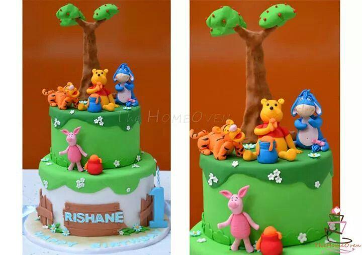 Winnie the pooh cake design