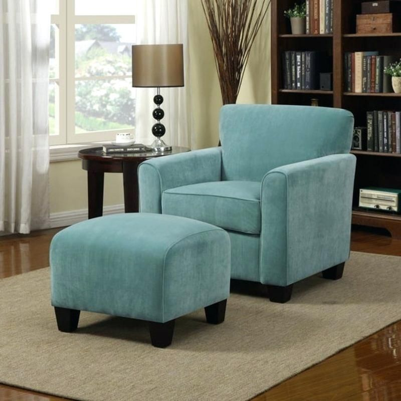 oversized blue leather accent chair Google Search