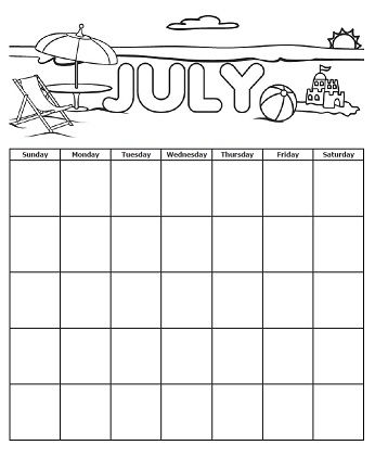 July Is Coming Check Out Our Independence Day Usa Page To Get This July Calendar And Many More To Super Teacher Worksheets Teacher Worksheets Super Teacher