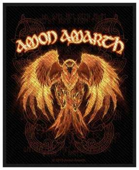 Amon Amarth Phoenix Aufnaher 2842 Metal In 2019 Amon Amarth